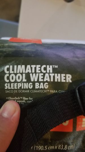 Cool weather Sleeping bag for Sale in Oak Lawn, IL