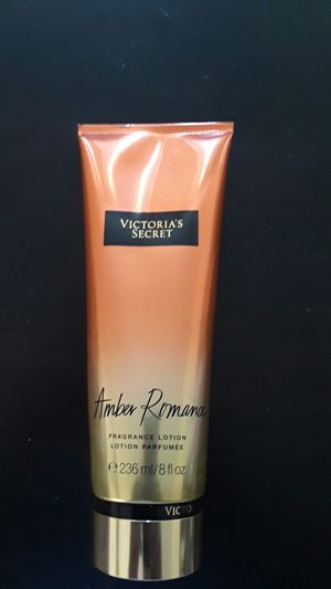 Victoria's Secret Amber Romance fragrance lotion 8 flavor Oz. Retail $18 brand new. Yours for $10 for Sale in Portland, OR