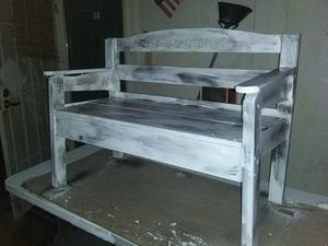 Bench pinewood for Sale in Fowler, CA