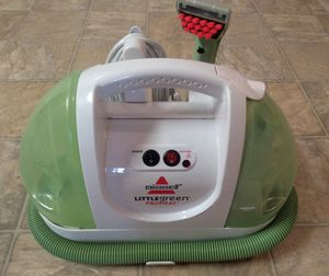 BISSELL Little Green ProHeat Portable Carpet and Upholstery Cleaner - Very new! for Sale in Woodinville, WA