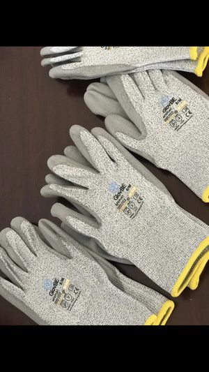 Work gloves 6 pairs cut level 3 for Sale in San Diego, CA