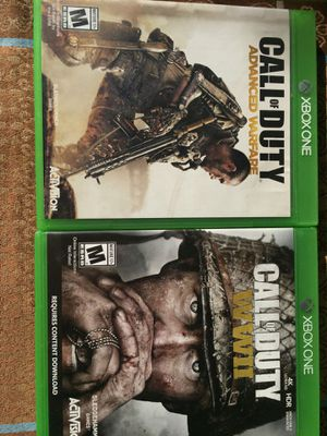 XBOX 1 - Call of duty advance warfare & Call of duty world 2 for Sale in Torrance, CA