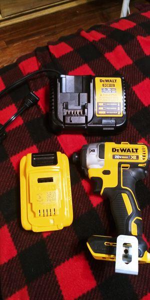 "Dewalt 20v max xr impact driver 1/4"" for Sale in Modesto, CA"