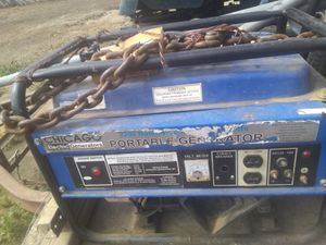 Portable generator for Sale in Bakersfield, CA