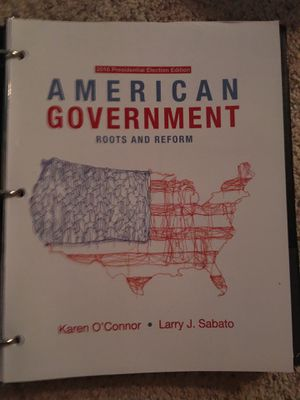 American government textbook loose leaf for Sale in Tarpon Springs, FL
