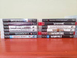 PS3 Game Bundle for Sale in Pittsburgh, PA