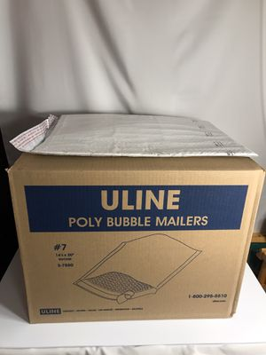 """ULINE Poly Bubble Mailers #7 14 1/4"""" x 20"""" for Sale in Cumberland, RI"""