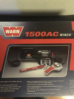 Warn 1500AC Winch for Sale in Sacramento, CA
