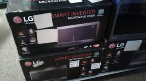 LG smart microwave stainless steel for Sale in Modesto, CA