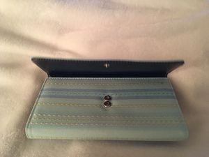 Kate Spade Fabric Wallet with Checkbook Cover for Sale in Manassas, VA