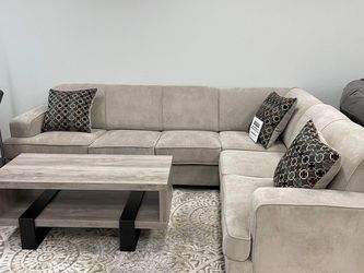 Very Comfortable Sleeper Sectional And It Comes With A Mattress Inside for Sale in Fort Worth,  TX