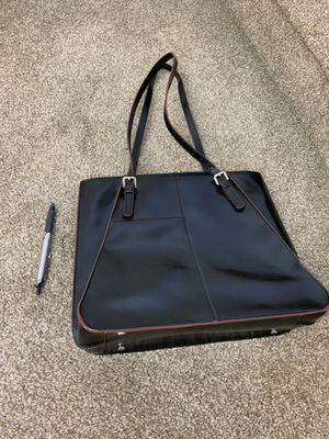 Hobo Tote Bag - Black Leather for Sale in Sunnyvale, CA