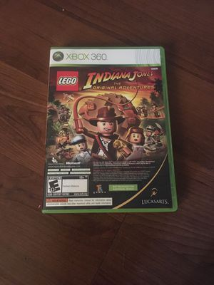 Xbox 360 Indiana Jones and kung fu panda video game for Sale in Arlington, TX