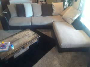 Brown Sectional Couch for Sale in Parlier, CA