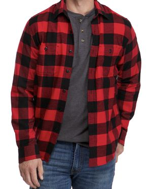 True Craft Mens Flannel Plaid Shirt Large for Sale in Annandale, VA