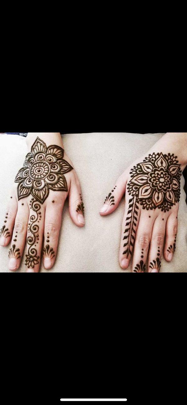 Bohemian henna