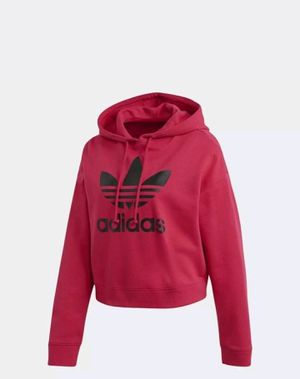 Women's adidas crop hoodie large for Sale in Duluth, GA