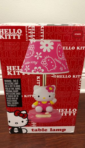 Hello Kitty Table Lamp for Sale in Miami, FL
