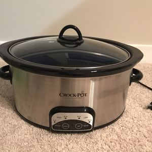 Crockpot 6 Qt for Sale in Jessup, MD