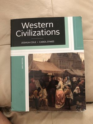 Western Civilizations Text Book for Sale in Tampa, FL