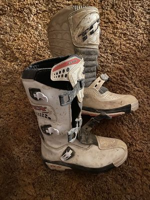 Dirt bike boots for Sale in Reynoldsburg, OH