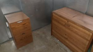 Locking Filing cabinet with key for Sale in Alhambra, CA