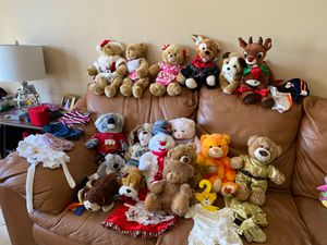 Build a Bears and assorted stuffed animals for Sale in Miramar, FL
