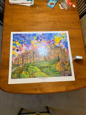 """Amazing 28""""X24"""" Large Carnegie library of homestead Print for Sale in Monroeville, PA"""