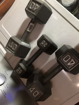 Dumbbells Weights 50$ OBO for Sale in Lancaster, CA