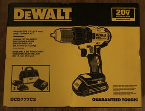 """DeWalt Brushless 1/2"""" Drill/Driver Kit 20V Max Lithium ION for Sale in Los Angeles, CA"""