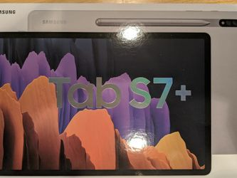 Samsung Galaxy Tab S7+ 256GB - Mystic Silver New for Sale in Gambrills,  MD