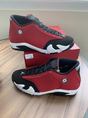 "Size 13 AIR JORDAN 14 GYM RED ""TORO"" for Sale in Arlington, TX"