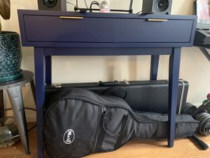 Blue console table for Sale in Brooklyn, NY