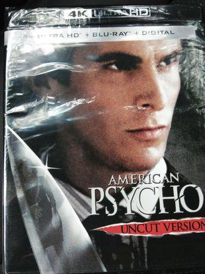 American Psycho Uncut Version 4K Digital Code for Sale in Fall River, MA