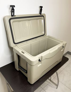 "Brand New $70 Heavy-Duty 40qt Ice Box Cooler w/ Cup Holder & Carry Handle 24""x13""x15"" for Sale in Downey, CA"