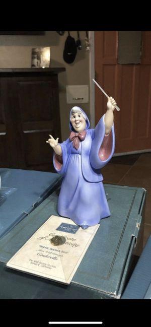 "WDCC Fairy Godmother ""Bibbidi, Bobbidi, Boo"" Disney Figurine for Sale in Fort Worth, TX"