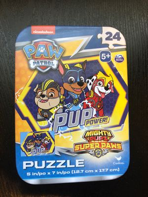 Paw Patrol Kids Puzzle Toy (NEW) for Sale in Flower Mound, TX