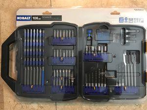 """Kobolt 106 pc tool set 1/4"""" for Sale in Loxahatchee, FL"""