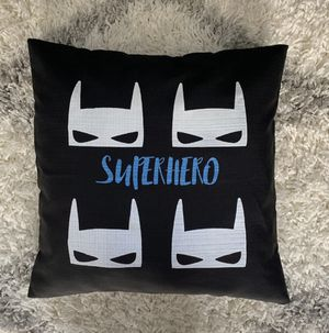 "18"" Superhero pillow cover for Sale in Le Mars, IA"