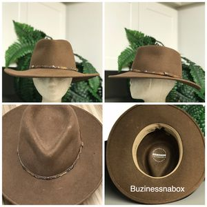 Stetson Mountain Sky Crushable Wool Felt Hat for Sale in Ontario, CA