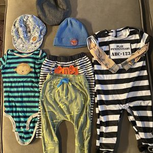 Baby Boy Clothes, Costume And Accessories Size 6 - 9 And 6 - 12 Months for Sale in Alexandria, VA