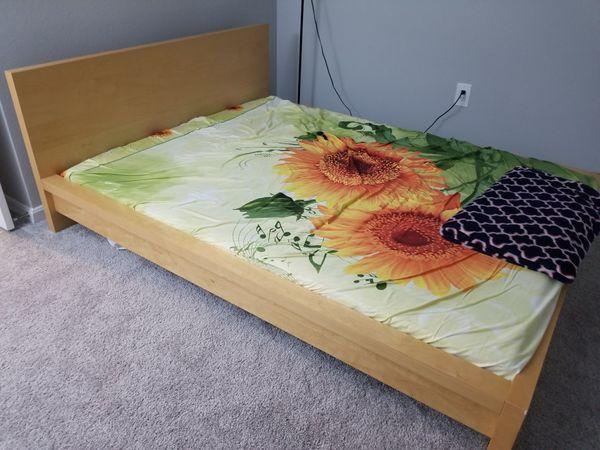 Ikea bed frame with slats
