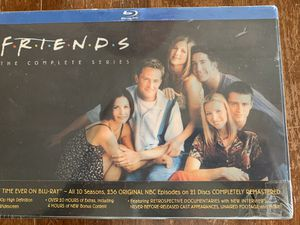 """""""FRIENDS"""" TV Show Blu-Ray all Ten Season Box set-New/Sealed for Sale in Chino, CA"""