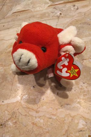 Snort 1995 Beanie Baby Red Bull Cow for Sale in Herndon, VA