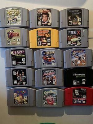 Nintendo 64 games n64 for Sale in Tampa, FL