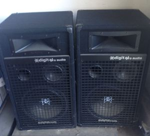 Audio Sound System Speakers for Sale in Clovis, CA