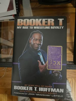 WWE Booker T My Rise To Wrestling Royalty for Sale in The Bronx, NY