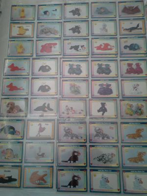 TY Trading Cards From The 90's 63 Cards Great Condition All For $25 for Sale in Reedley, CA