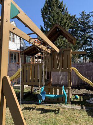 Playscape swing set for Sale in Hamtramck, MI
