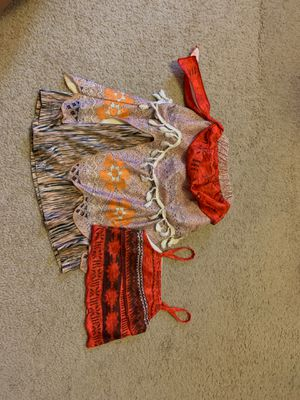Moana Costume- ages 2-3 for Sale in Sunrise, FL